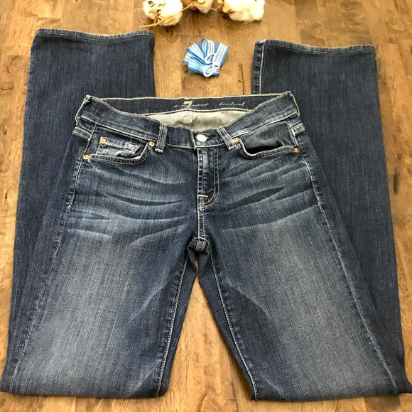 7 For All Mankind Denim - 7 For All Mankind Boot Cut Jeans Size 26